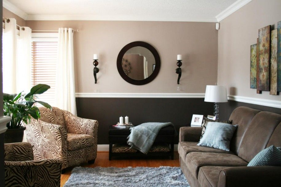 20 Beautiful Living Rooms Featuring Comforting Earth Tones. Living Room  Color SchemesLiving ...