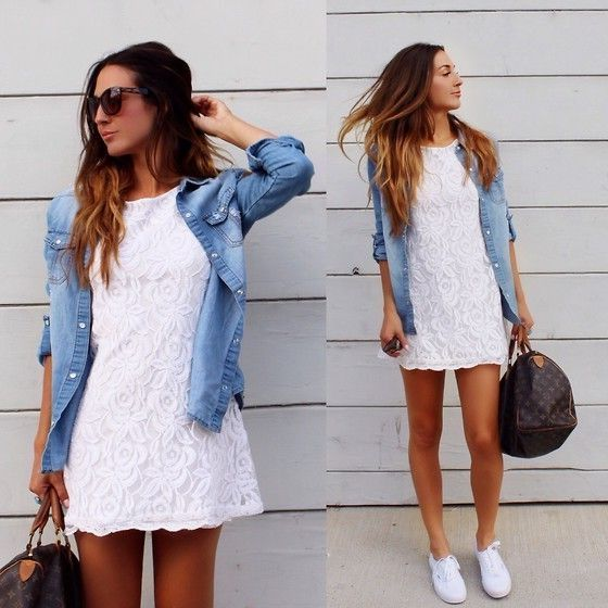 Wear Dresses With Sneakers 2019