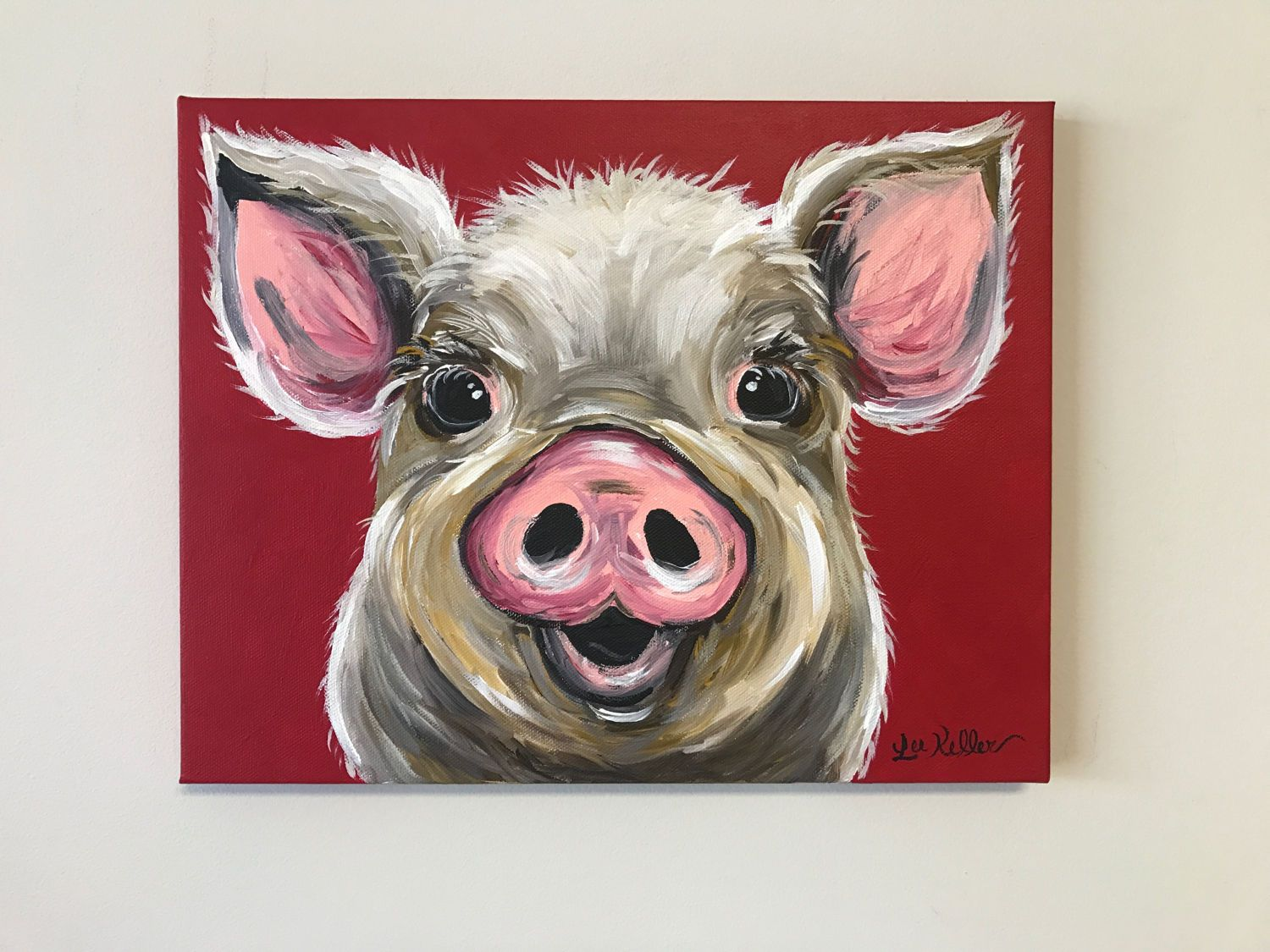 Pig Canvas Art