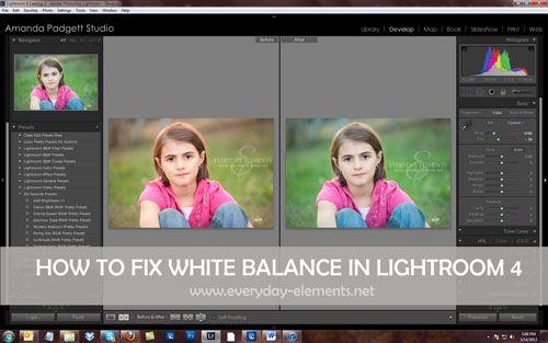 White balance lightroom