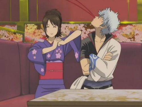 gintama gintoki and otae - photo #37