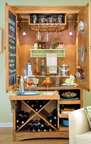 Armoire Bar: My Weekend Project... Which Will Likely Turn Into A Month Long  Project That My Husband Has To Take Over... :)