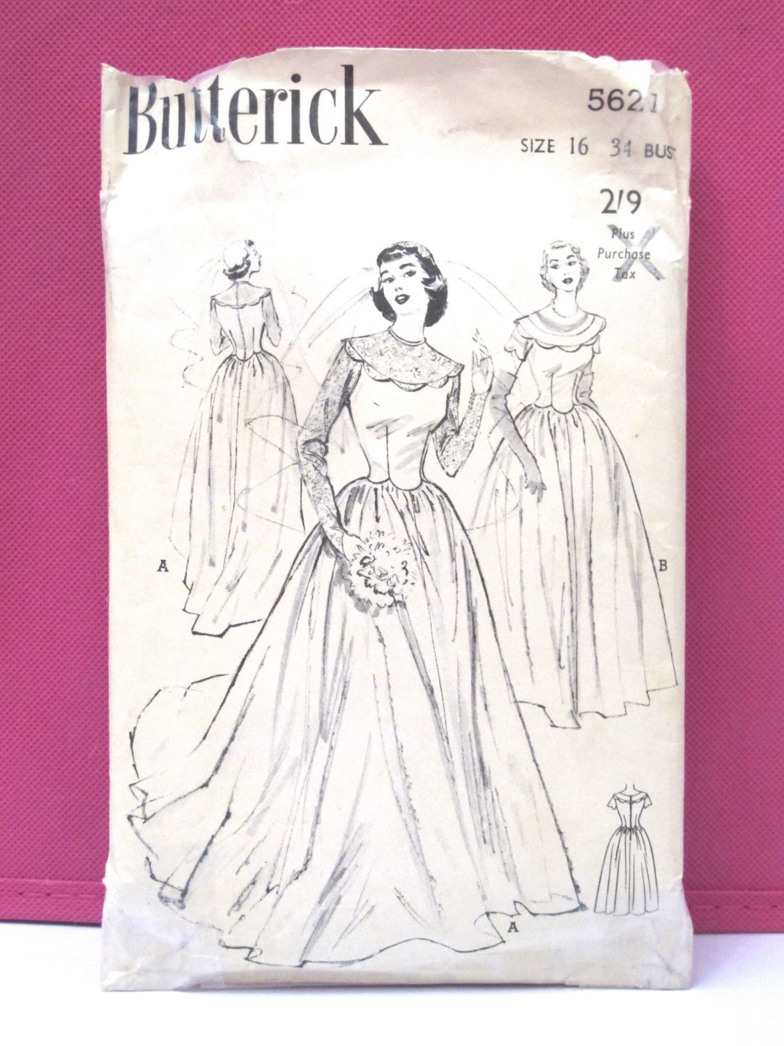 New rare vintage sewing pattern butterick s style