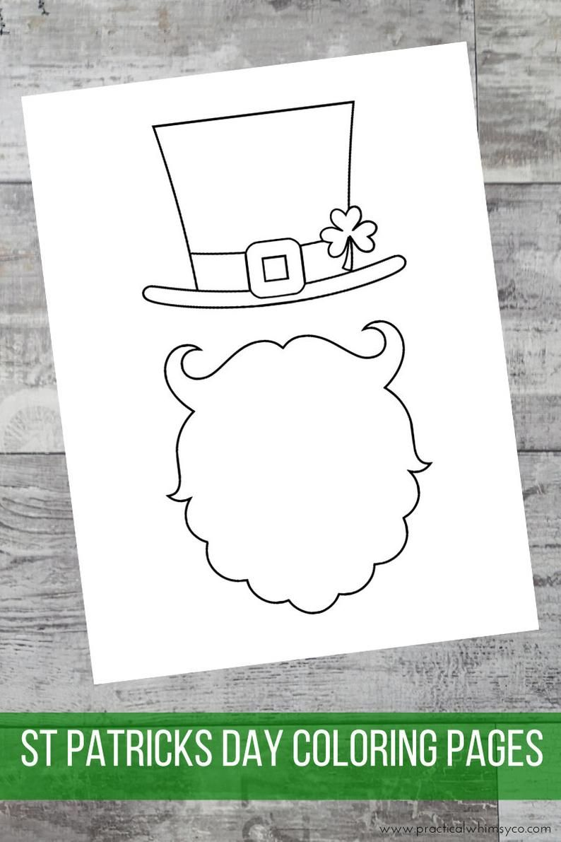 St Patricks Day Coloring Book Spring Printable Party Coloring Etsy In 2021 St Patrick Day Activities St Patricks Day Crafts For Kids St Patrick S Day Crafts [ 1191 x 794 Pixel ]