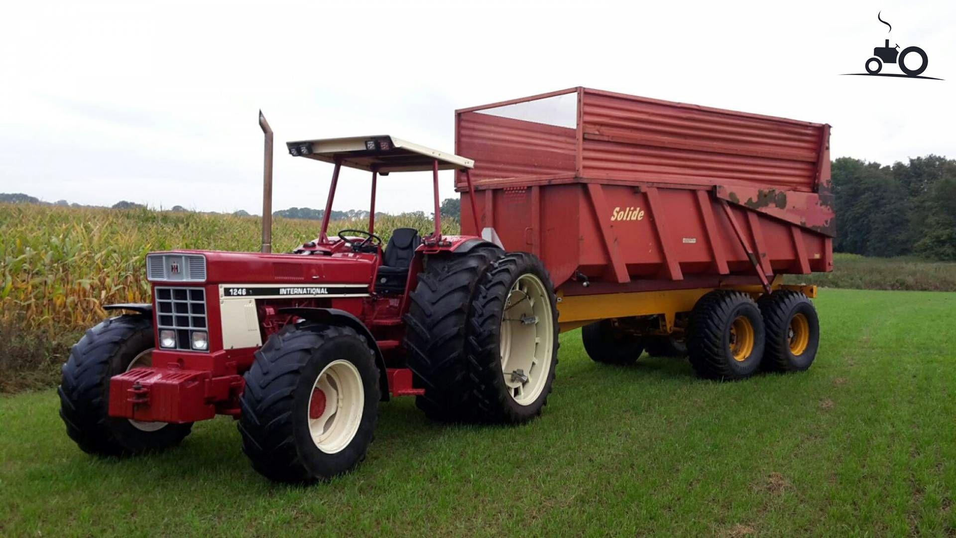 international 1246 tractor mania pinterest tractor rh pinterest com Case IH Wallpaper New Holland