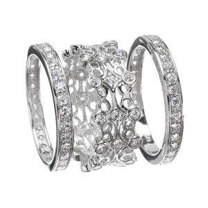 cubic zirconia wedding ring sets - Cubic Zirconia Wedding Ring Sets