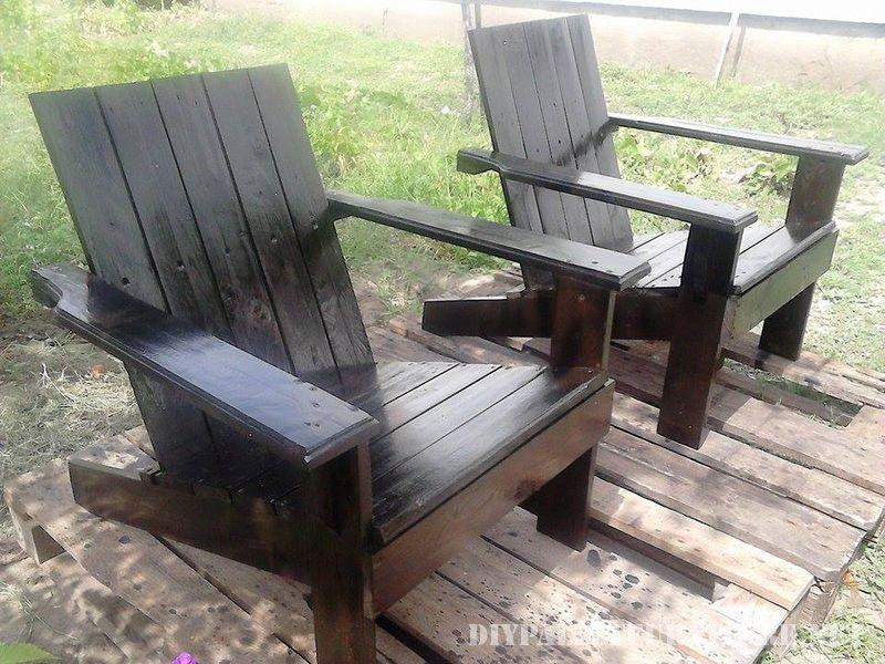 Chaise de jardin avec palettes | Идеи для дома | Palette jardin ...