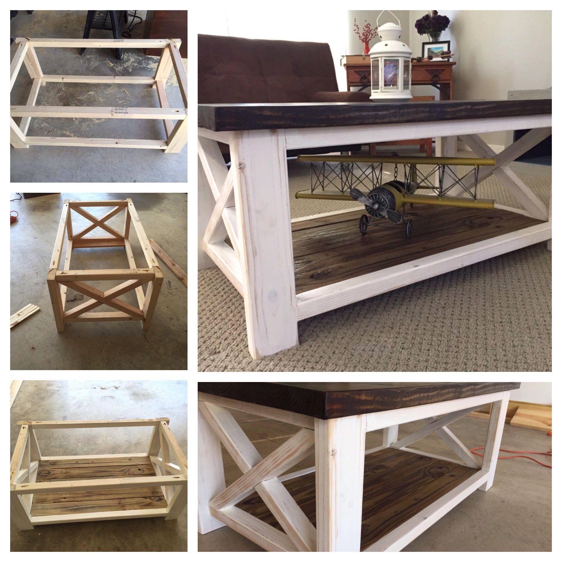 Custom Made Barn Style Coffee Table Diy Kitchen Decor Kitchen