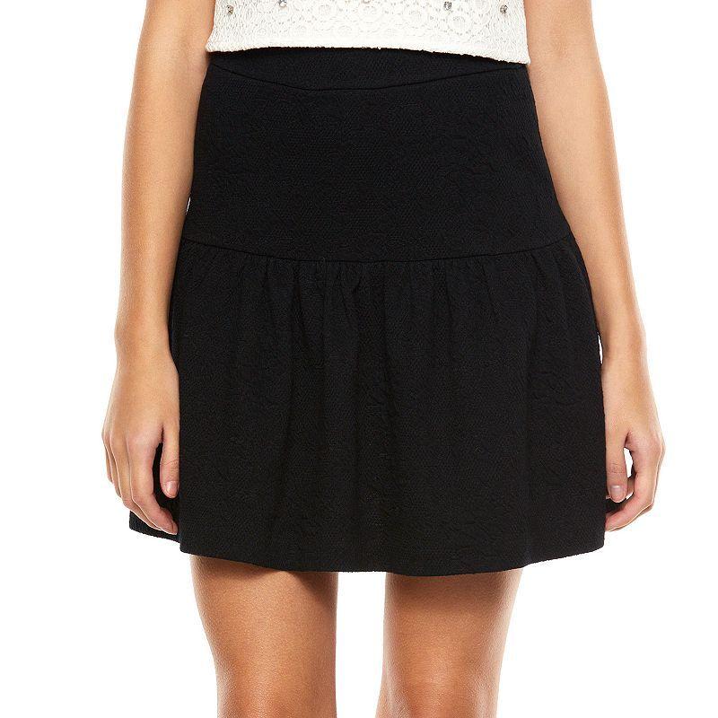 LC Lauren Conrad Ponte Circle Skirt - Women's