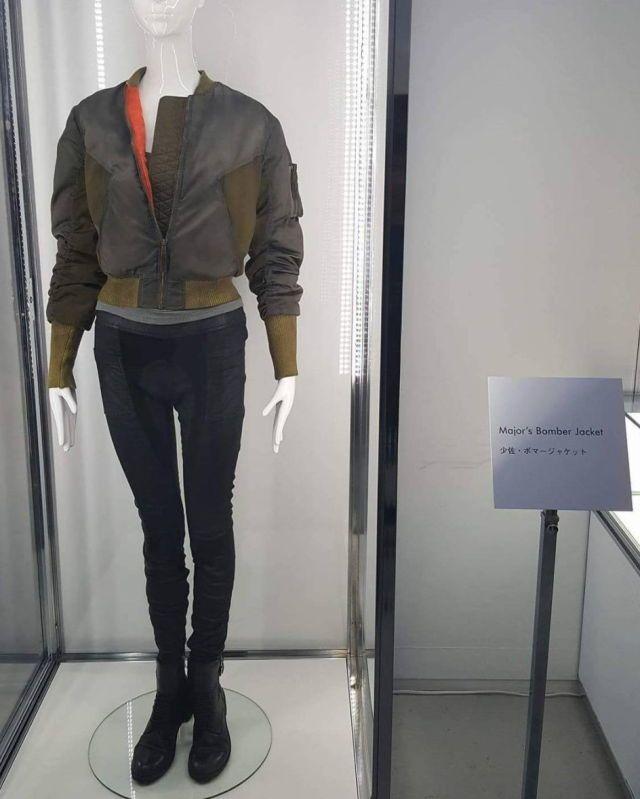 Major S Bomber Jacket Ghost In The Shell Scarlett Johansson Ghost In The Shell Cyberpunk Style Scarlett Johansson