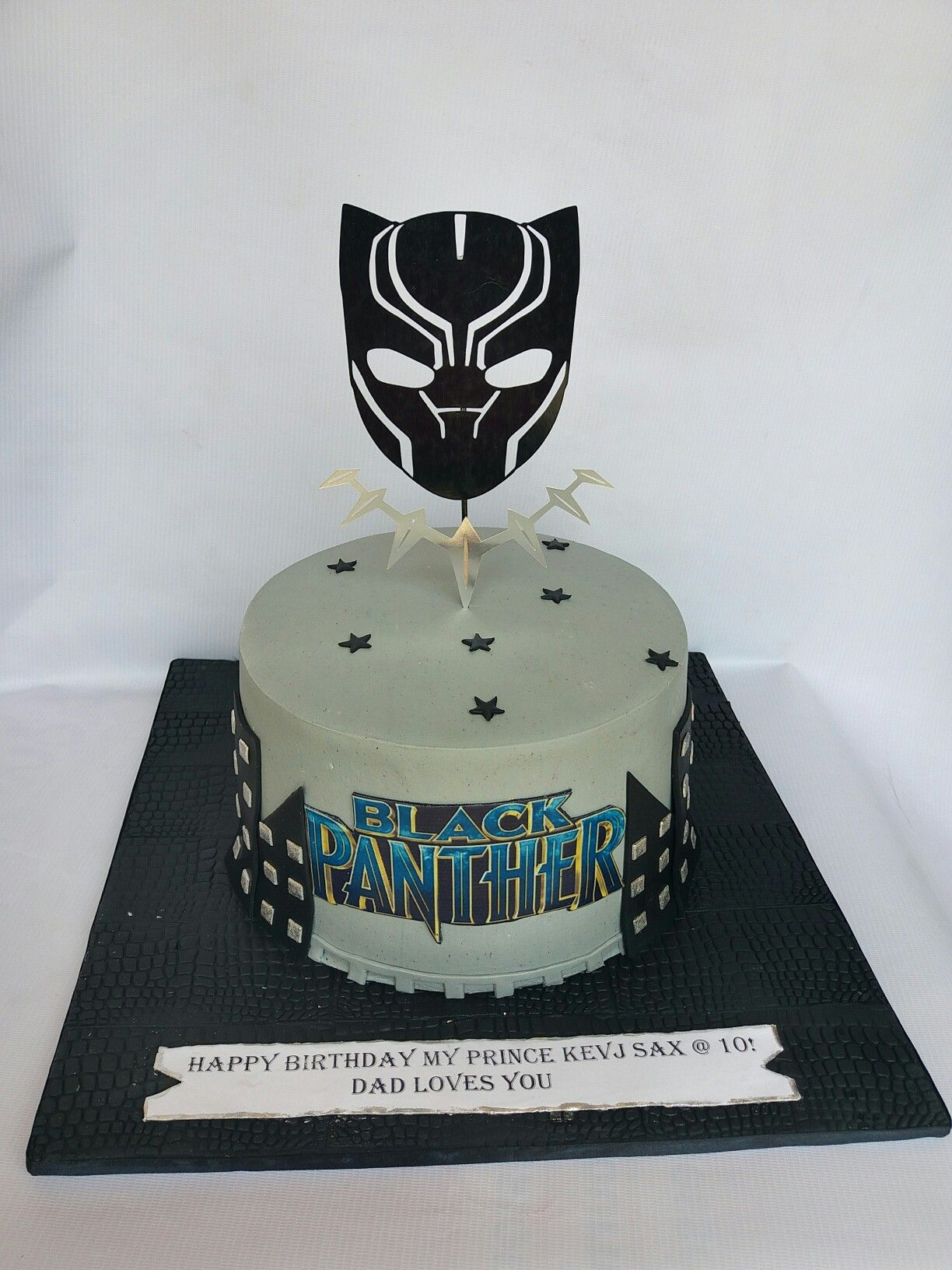 Black Panther Cake By Diya S Treats Cakes In 2019