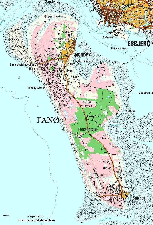 Fano Region Syddanmark Kort Inselleben Ab In Den Urlaub
