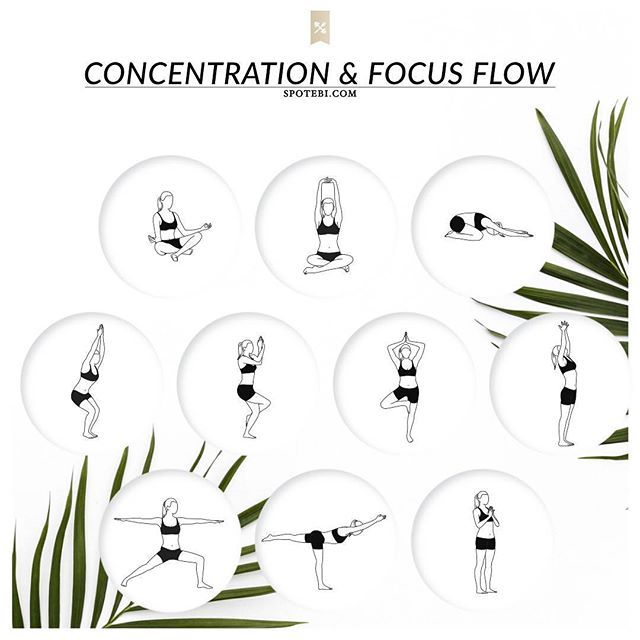 Take a yoga break at work to boost your productivity! This 8-minute yoga flow stimulates the brain and central nervous system, enhances memory and concentration, and improves your mental focus. http://www.spotebi.com/yoga-sequences/concentration-focus/ @Spotebi #Yoga #Flow #Fitness #Healthy #Happy #Fit