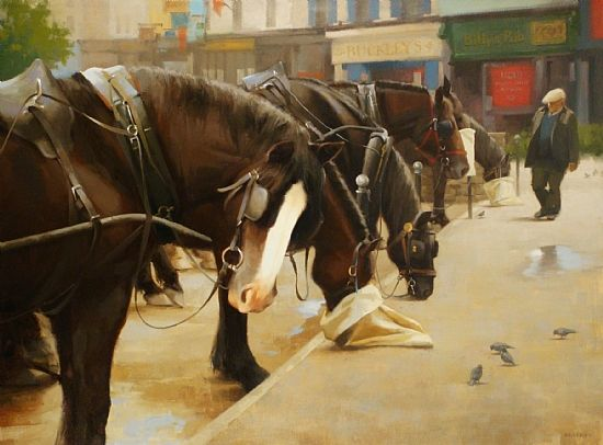Laurie Kersey - Irish Breakfast- Oil - Painting entry - September 2011   BoldBrush Painting Competition