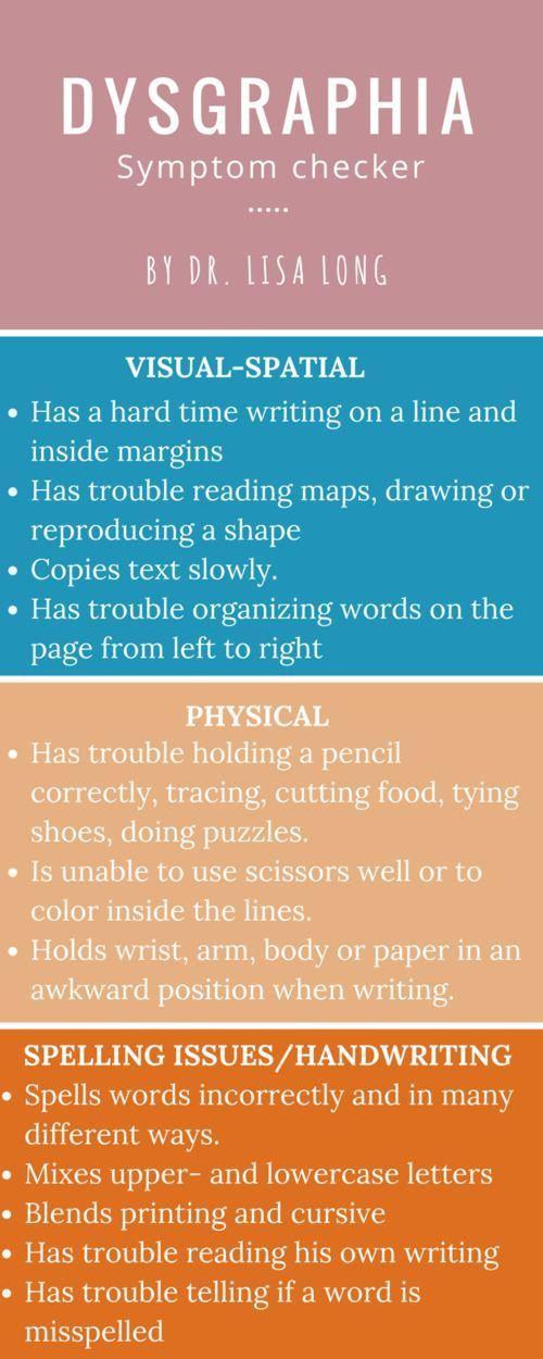 dysgraphia symptom infographic dyslexia support collaborative board learn. Black Bedroom Furniture Sets. Home Design Ideas