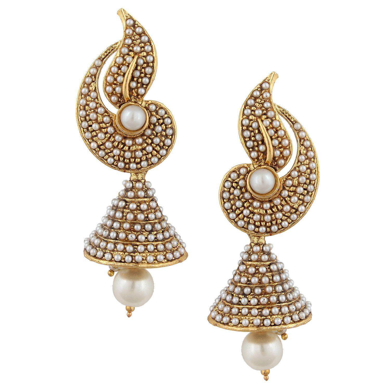 latest jhumka earrings designs in 2017 - Sari Info | Jewellery ...