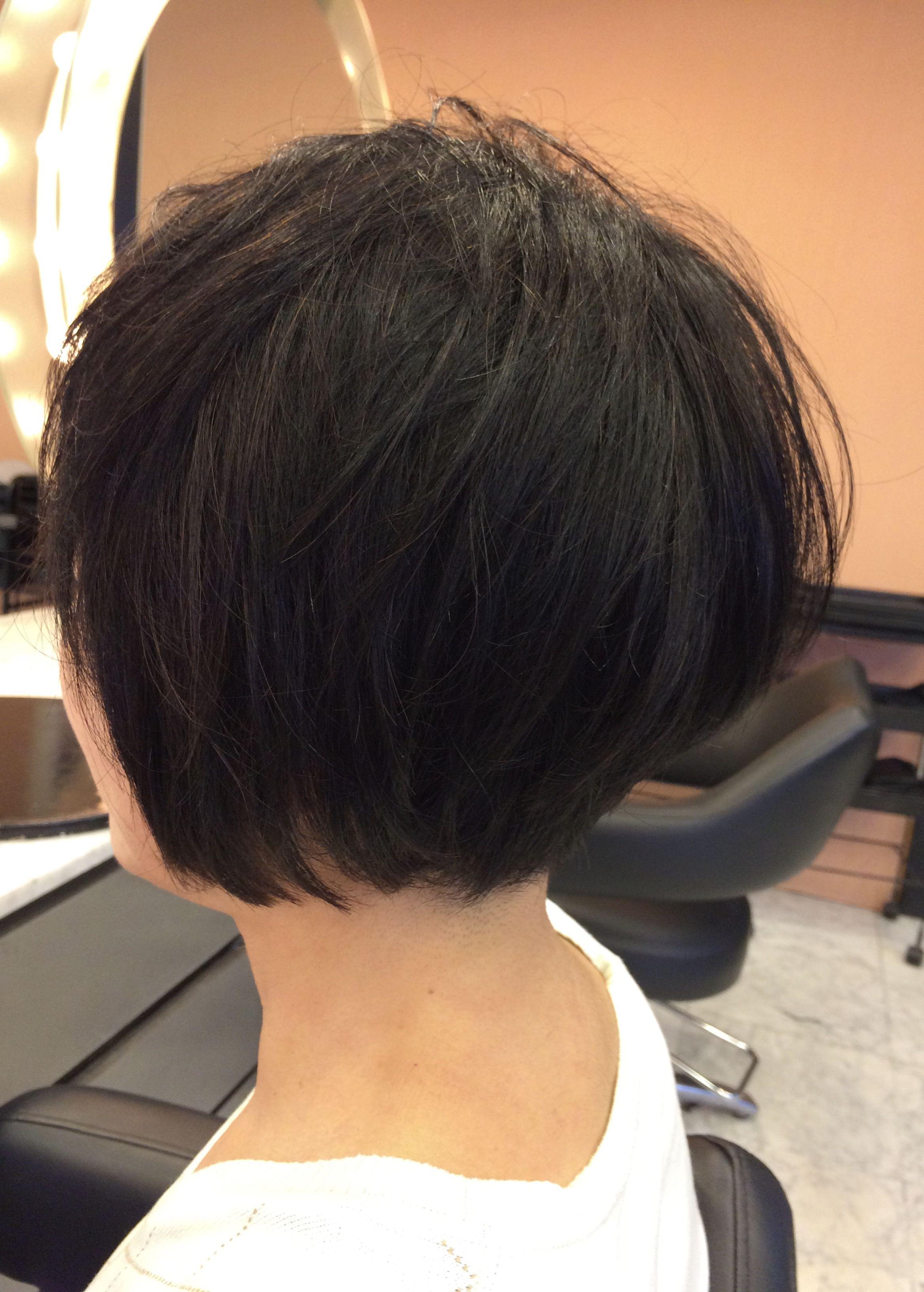 40代50代60代ヘアスタイル髪型 50代髪型 50代ショートボブ 2020