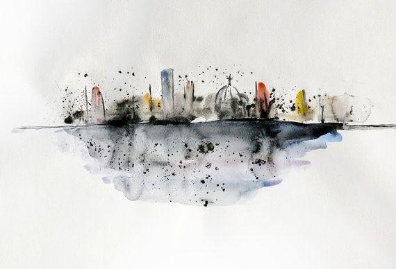 Elena Romanova FairySomnia's Abstract City   Art ...