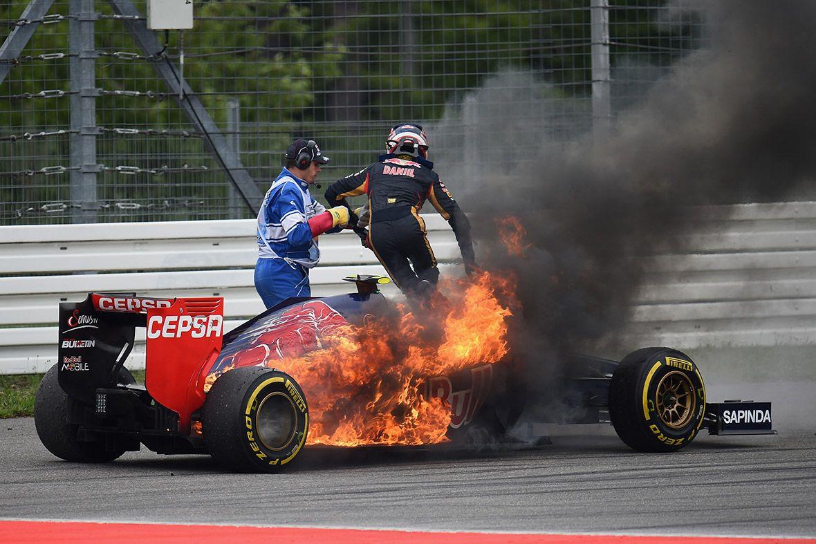 2014 Formula 1 German Grand Prix Daniil Kvyat (Toro