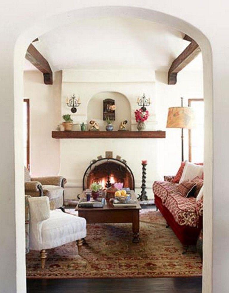 28 Cozy Spanish Style Decorating Living Room Ideas Spanish