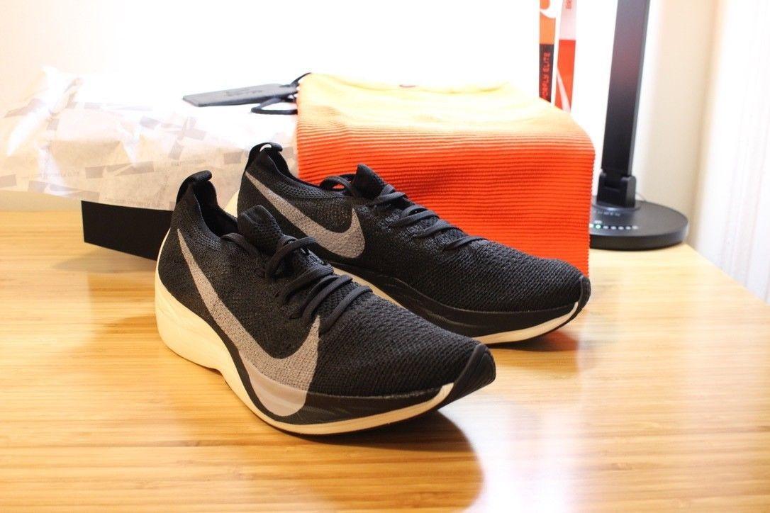 Nike Zoom Vaporfly Elite M 11 W 12.5 Black 1 of 100 Breaking2 DS ULTRA  RARE!!! f8f1636bb