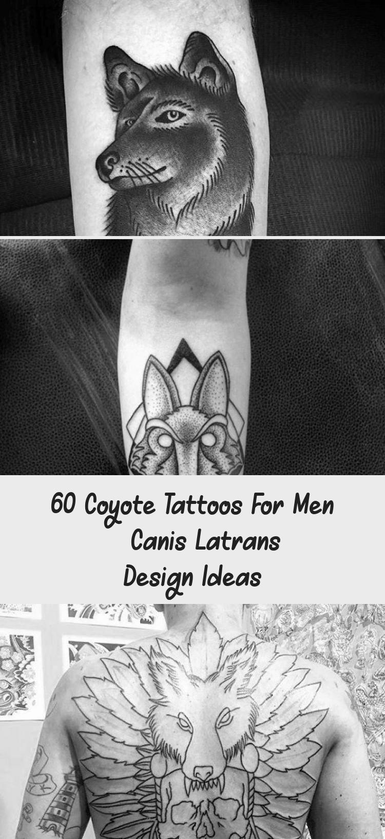 60 Coyote Tattoos For Men  Canis Latrans Design Ideas  Tattoos  60 Coyote Tattoos For Men  Canis Latrans Design Ideas