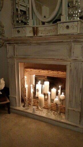 Love this idea! Decorating Pinterest Living rooms, Mantels and