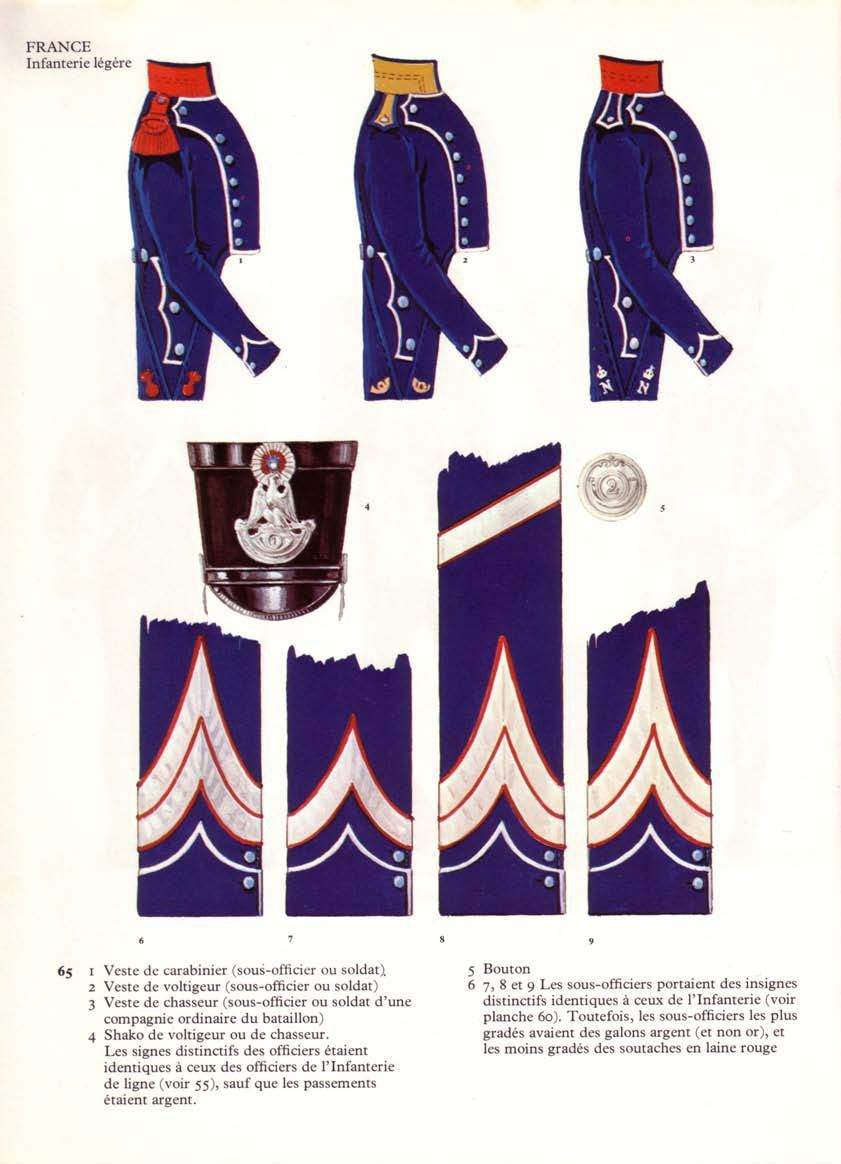 French Legere Infantry Insignia