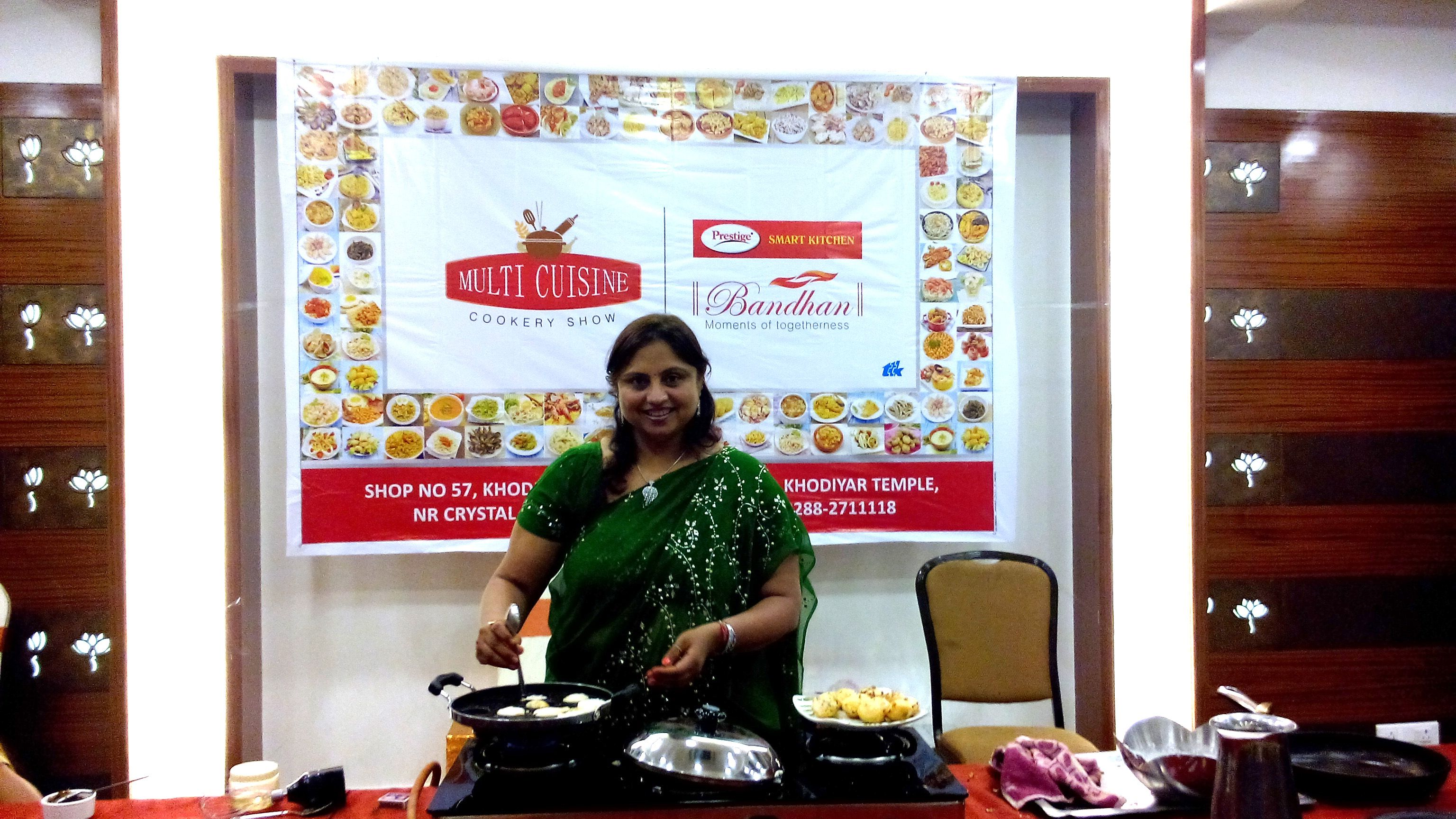 Prestige Bandhan, a multi-cuisine cookery show - held at ...
