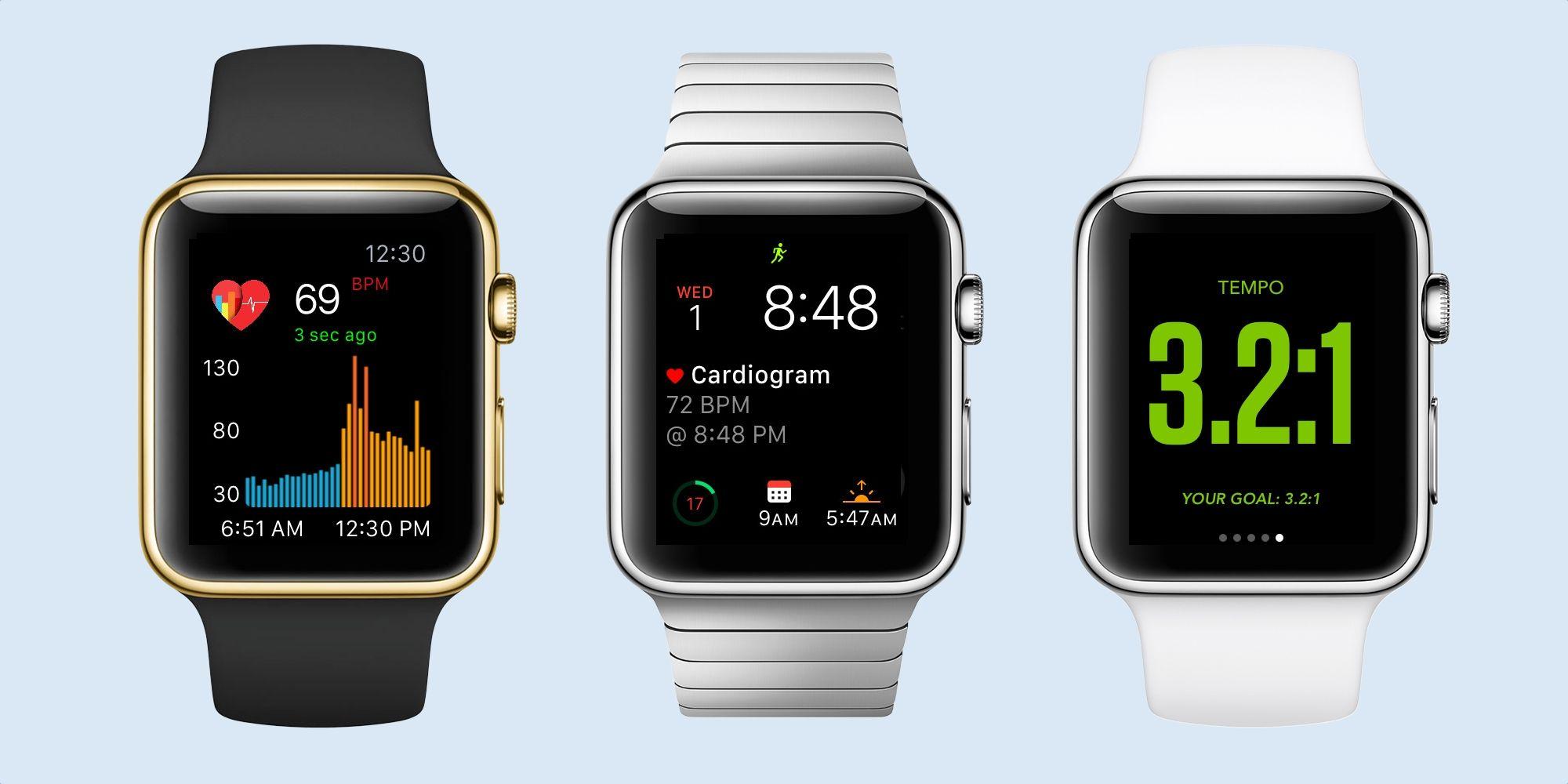 Cardiogram brings heart rate graph to watchos as zepp golf