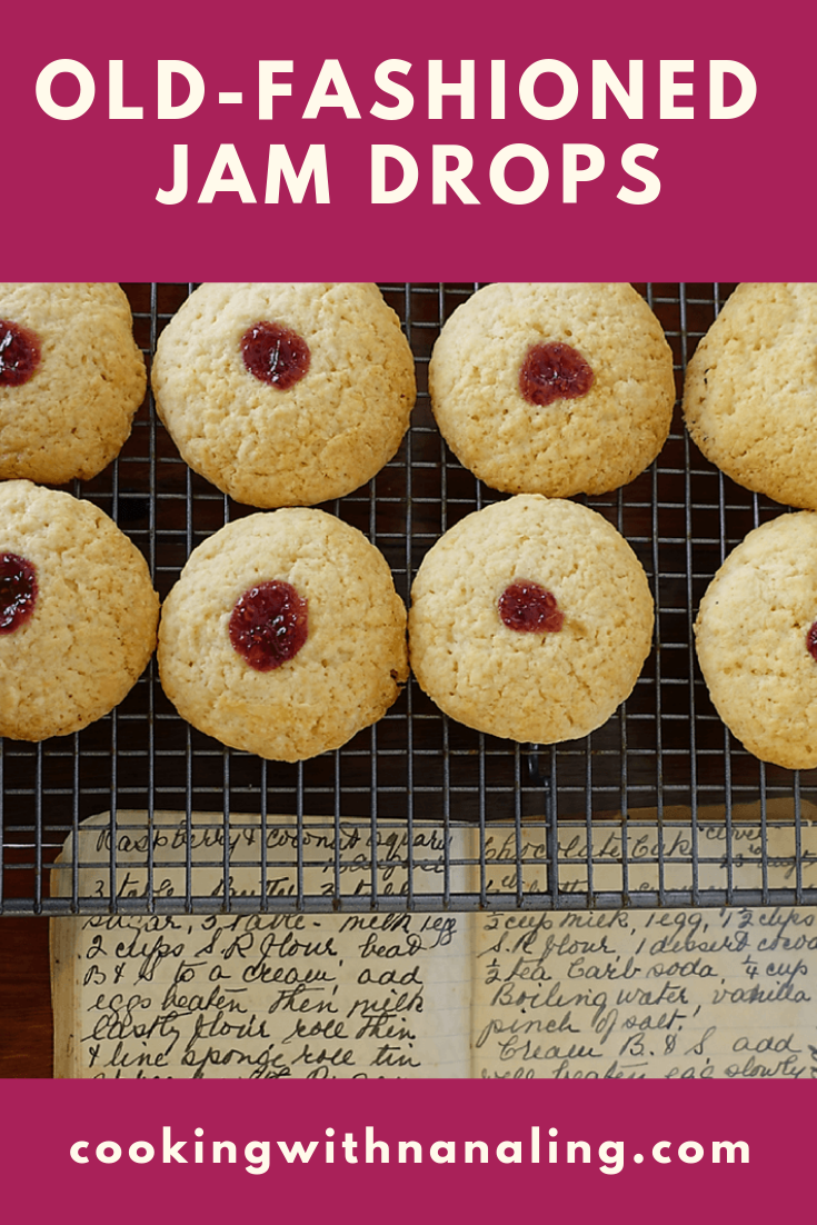 Jam Drops Recipe Jam Drops Recipe Jam Drop Biscuits Recipes