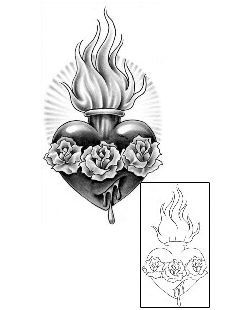 Image Result For Sacred Heart Wings Nichos Sacred Heart Tattoos