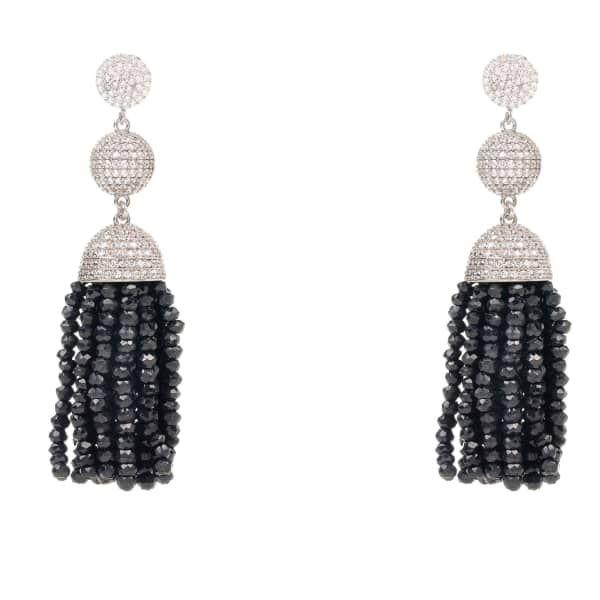 Latelita London Tassel Ball Earring Pyrite gzfgnGOR4