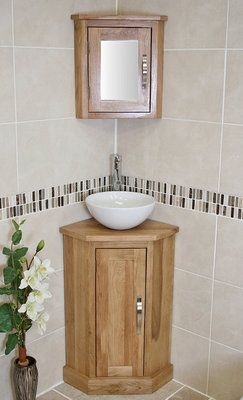 Corner Bathroom Cabinet  Bath  Pinterest  Bathroom Cabinets Pleasing Small Bathroom Corner Vanity Decorating Design