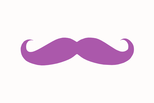 free vector mustache clip art - photo #48