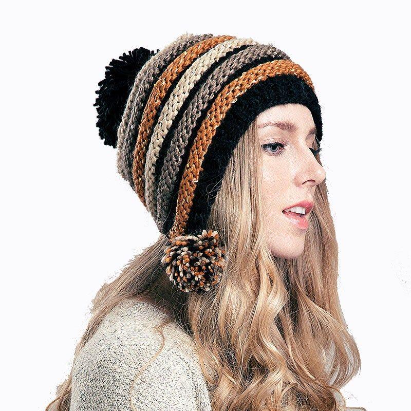10 gorros tejidos fashion (2)   Tendencias 2018 moda   Pinterest