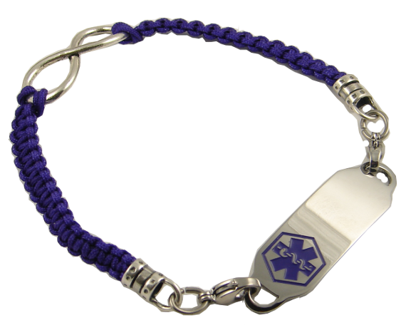 Infinity Bracelet : Stylish Medical ID, Style you can depend on .  Please visit us at www.stylishmedicalid.com to see this and more.