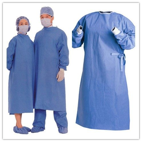 SMS surgical gown material of non-woven surgical gown used for ...