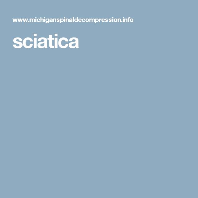 sciatica