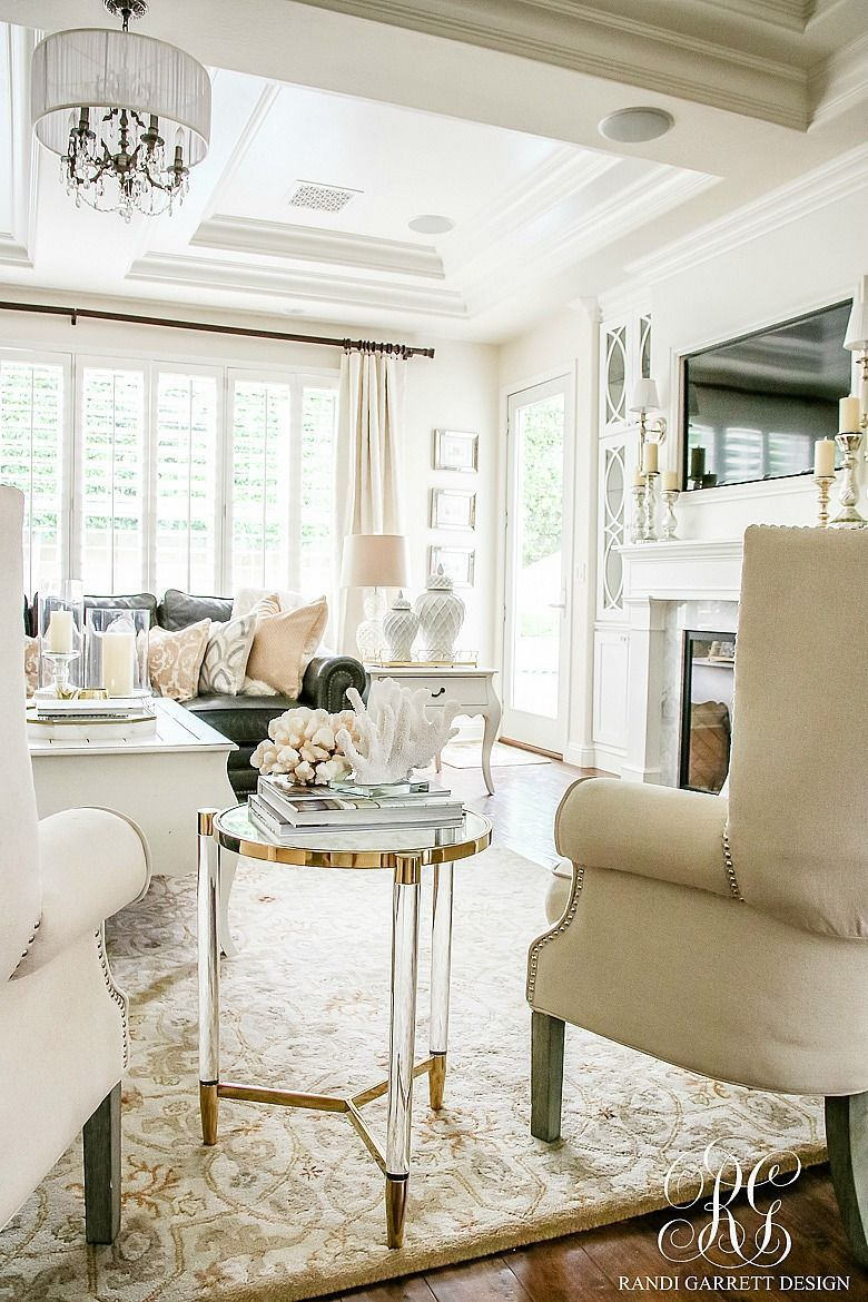 Photo of Soothing Summer House Tour 2017 – Neutral Transitional Home Decor – White Family …