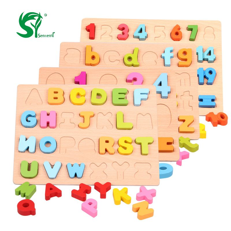 Wooden Blocks Wooden Montessori Classic Preschool Baby Memory Training Game Early Education Cognitive Matching Toys For Children