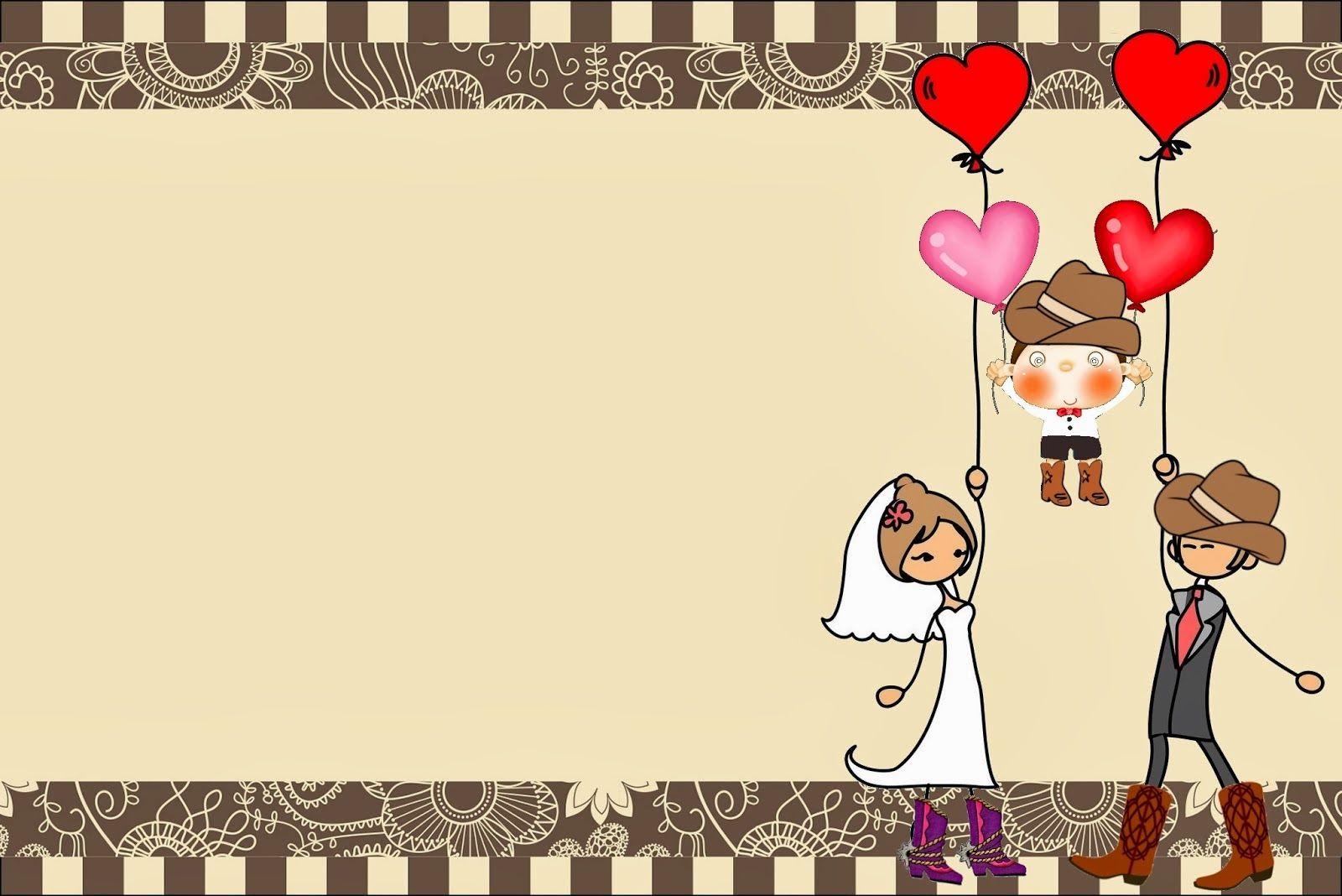 Espectaculares tarjetas de matrimonio para imprimir tiles - Tarjeta de boda ...