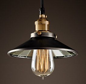 restoration industrial pendant lighting. brilliant restoration rhu0026 c factory filament reflector single pendantevoking industrial lighting  our reproductions of vintage fixtures retain the classic lines and exposed  with restoration industrial pendant lighting b