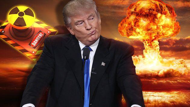 In 72 Tagen Könnte Trump Zivilisation Auslöschen
