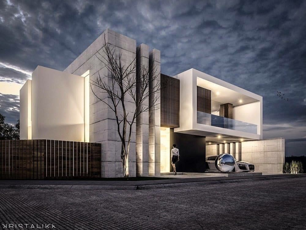 Sierra Alta House By Kristalikadesign Be Inspired By Leading Architects Architect Architecture Modern Architecture Modern Architecture Design Facade House