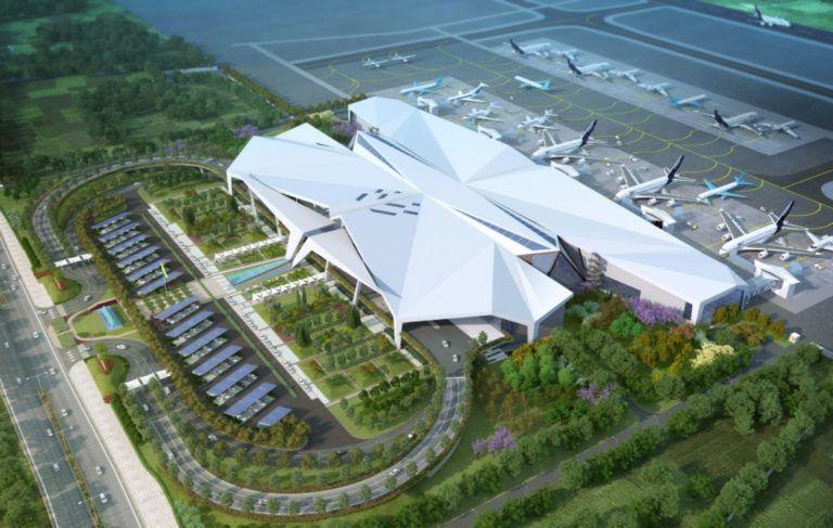 Guwahati International Airport By Design Forum International And Aecom Airport Design International Airport Airport
