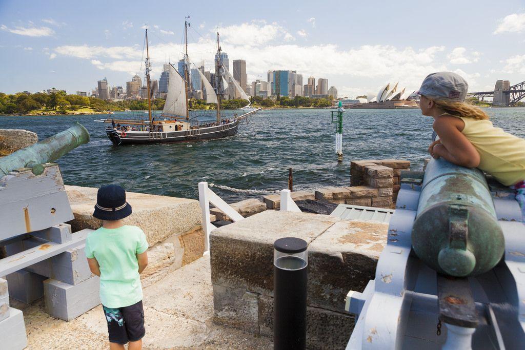 WilderQuest convict kids on Fort Denison | por Environment + Heritage NSW