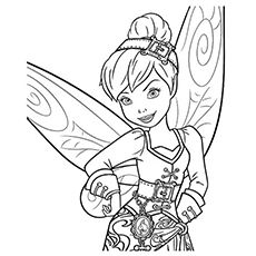 Top 25 Free Printable Tinkerbell Coloring Pages Online ...
