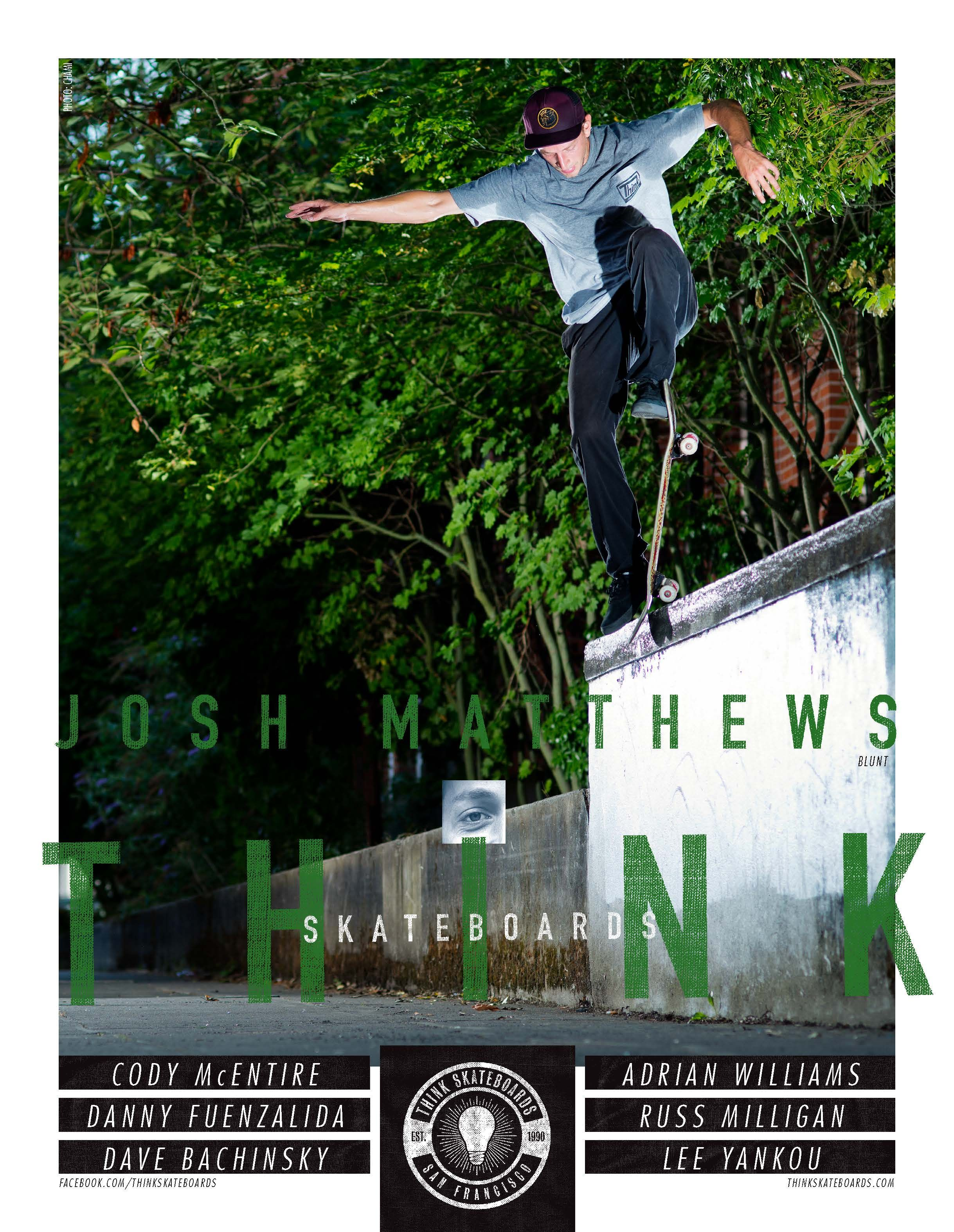 Think Skateboards - Ad Archive