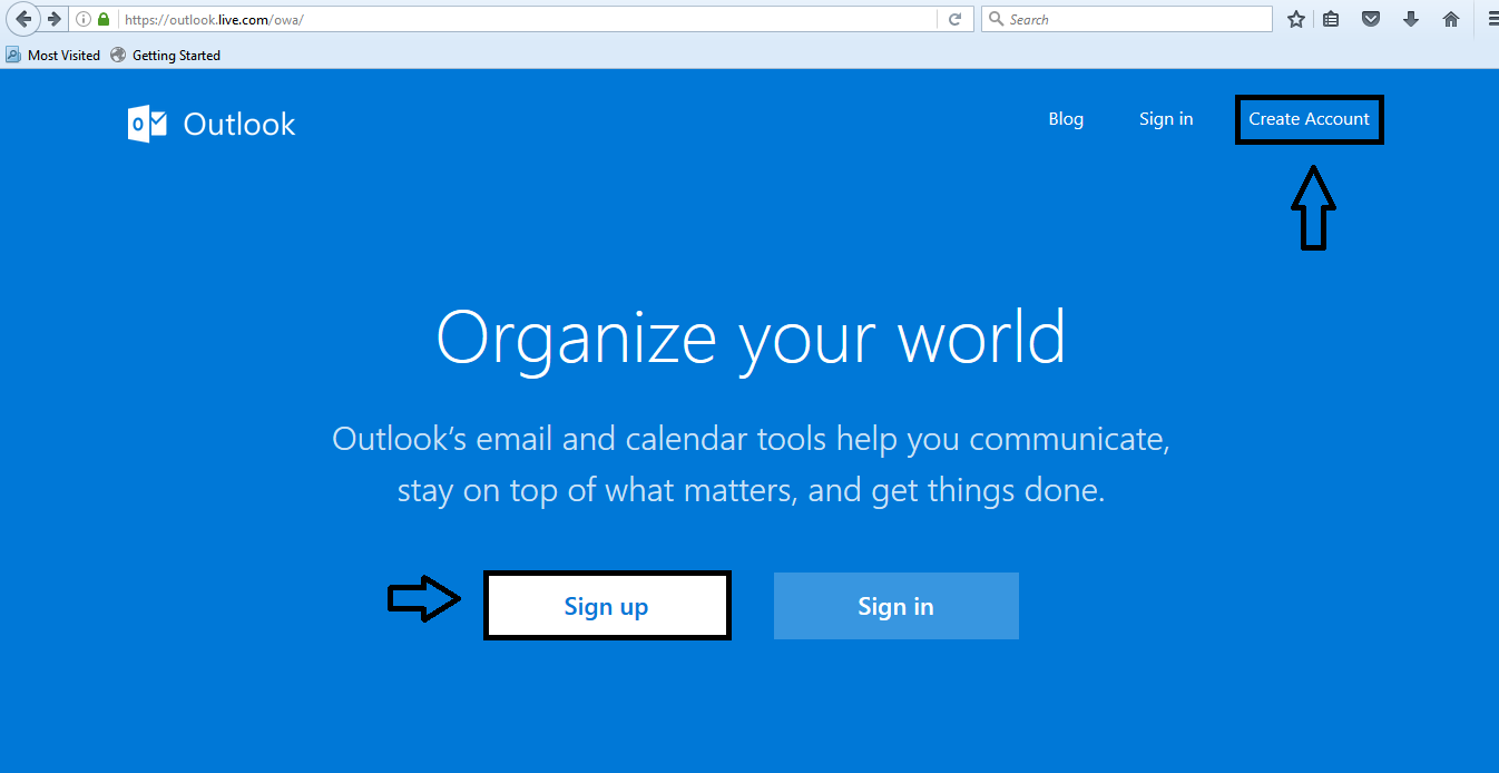 Hotmail sign up create new hotmail account . Procedure